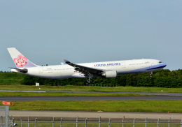 アルビレオさんが、成田国際空港で撮影したチャイナエアライン A330-302の航空フォト(飛行機 写真・画像)