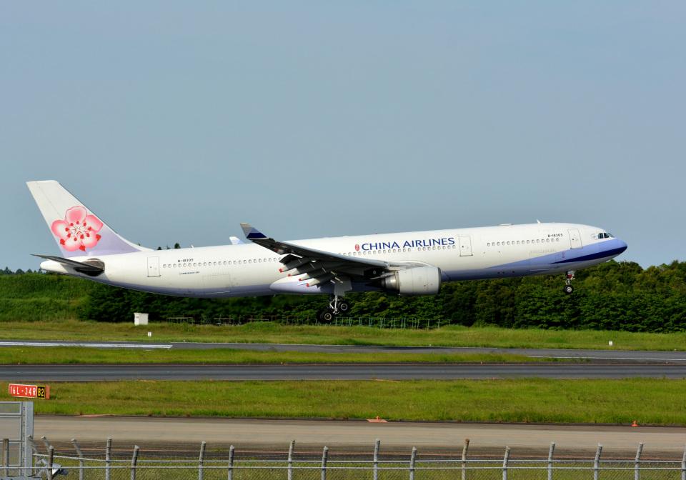 アルビレオさんのチャイナエアライン Airbus A330-300 (B-18305) 航空フォト