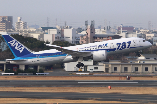 航空フォト:JA817A 全日空 787-8 Dreamliner