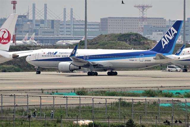 レドームさんが、羽田空港で撮影した全日空 767-381/ERの航空フォト(飛行機 写真・画像)