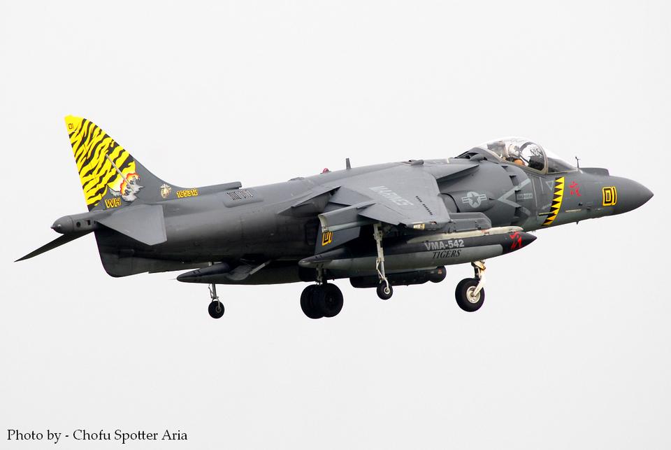 Chofu Spotter Ariaさんのアメリカ海兵隊 McDonnell Douglas AV-8B Harrier II (165312) 航空フォト