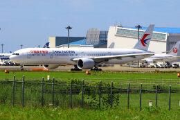 Tomo_mczさんが、成田国際空港で撮影した中国東方航空 777-39P/ERの航空フォト(飛行機 写真・画像)