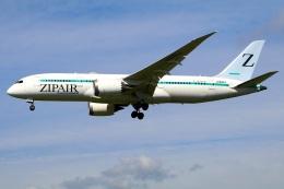 Tomo_mczさんが、成田国際空港で撮影したZIPAIR 787-8 Dreamlinerの航空フォト(飛行機 写真・画像)