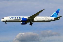 Tomo_mczさんが、成田国際空港で撮影したユナイテッド航空 787-9の航空フォト(飛行機 写真・画像)