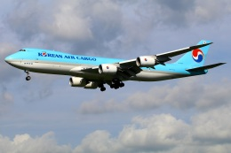 Tomo_mczさんが、成田国際空港で撮影した大韓航空 747-8B5F/SCDの航空フォト(飛行機 写真・画像)