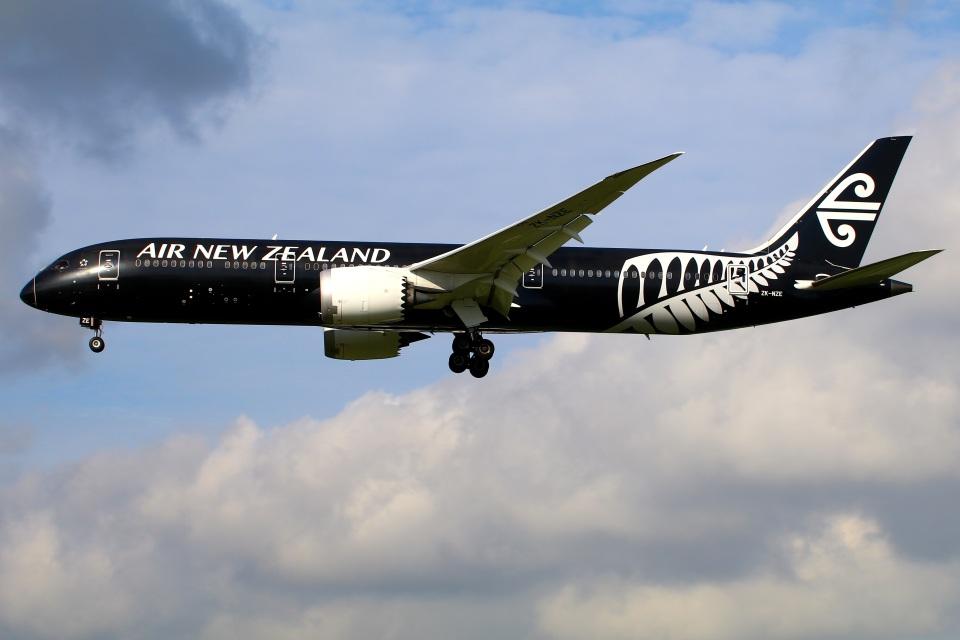 Tomo_mczさんのニュージーランド航空 Boeing 787-9 (ZK-NZE) 航空フォト