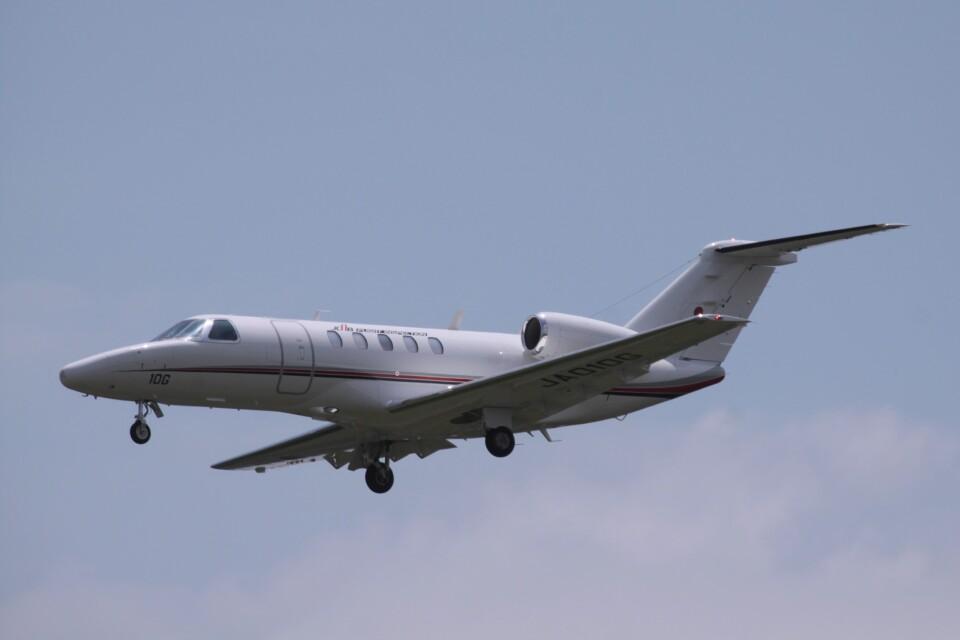Mr.boneさんの国土交通省 航空局 Cessna 525 CitationJet (JA010G) 航空フォト