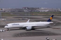 Mr.boneさんが、羽田空港で撮影したルフトハンザドイツ航空 A350-941の航空フォト(飛行機 写真・画像)