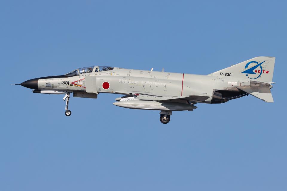 シン・マリオ先輩さんの航空自衛隊 McDonnell Douglas F-4EJ Phantom II (17-8301) 航空フォト