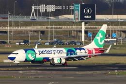 S.Hayashiさんが、アムステルダム・スキポール国際空港で撮影したトランサヴィア 737-8K2の航空フォト(飛行機 写真・画像)