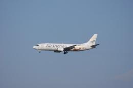 磐城さんが、仁川国際空港で撮影したエア・インチョン 737-4Y0/SFの航空フォト(飛行機 写真・画像)