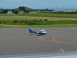 Smyth Newmanさんが、札幌飛行場で撮影した東京センチュリー 172P Skyhawkの航空フォト(飛行機 写真・画像)