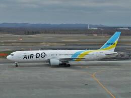 Smyth Newmanさんが、新千歳空港で撮影したAIR DO 767-381/ERの航空フォト(飛行機 写真・画像)