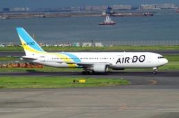 tasho0525さんが、羽田空港で撮影したAIR DO 767-33A/ERの航空フォト(飛行機 写真・画像)