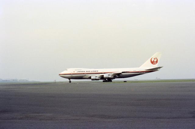KOMAKIYAMAさんが、羽田空港で撮影した日本航空 747SR-46の航空フォト(飛行機 写真・画像)