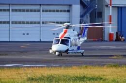 kaeru6006さんが、東京ヘリポートで撮影したオールニッポンヘリコプター AW139の航空フォト(飛行機 写真・画像)