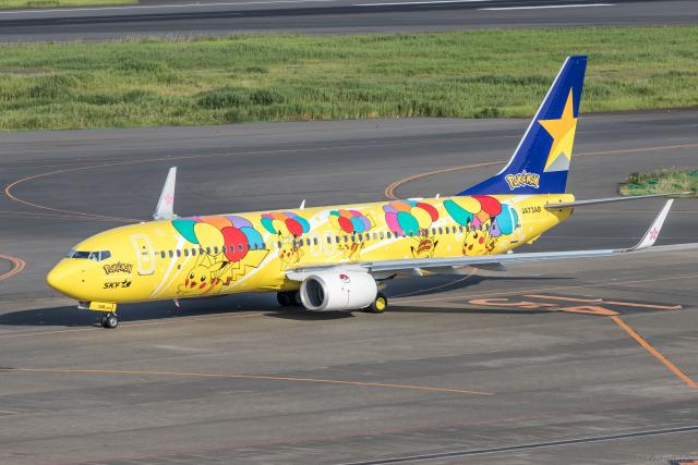 航空フォト:JA73AB スカイマーク
