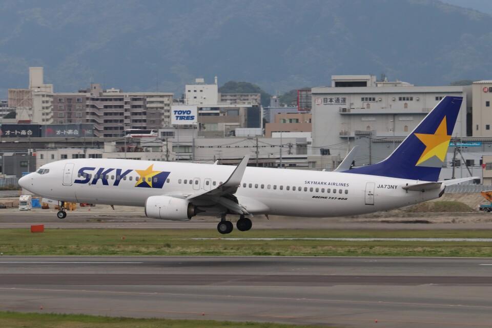 Yuseiさんのスカイマーク Boeing 737-800 (JA73NY) 航空フォト