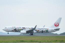 Jyunpei Ohyamaさんが、岡山空港で撮影した日本トランスオーシャン航空 737-8Q3の航空フォト(飛行機 写真・画像)