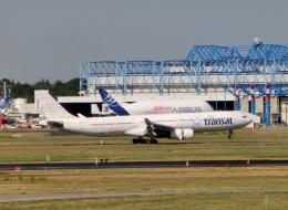 TA27さんが、トゥールーズ・ブラニャック空港で撮影したエア・トランザット A330-342の航空フォト(飛行機 写真・画像)