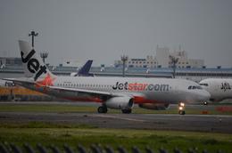 ウッディさんが、成田国際空港で撮影したジェットスター A320-232の航空フォト(飛行機 写真・画像)