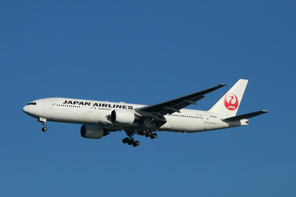 すど。けん。さんの日本航空 Boeing 777-200 (JA009D) 航空フォト