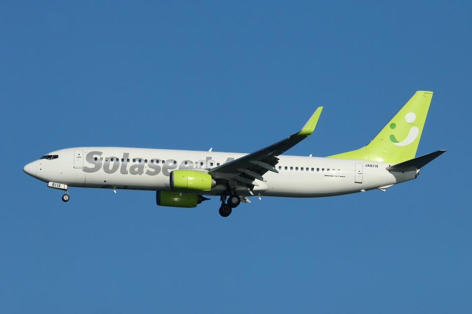 すど。けん。さんのソラシド エア Boeing 737-800 (JA811X) 航空フォト