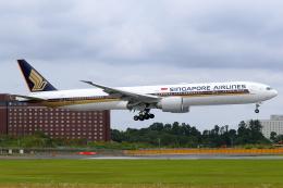 こだしさんが、成田国際空港で撮影したシンガポール航空 777-312/ERの航空フォト(飛行機 写真・画像)