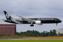 こだしさんが、成田国際空港で撮影したニュージーランド航空 787-9の航空フォト(飛行機 写真・画像)