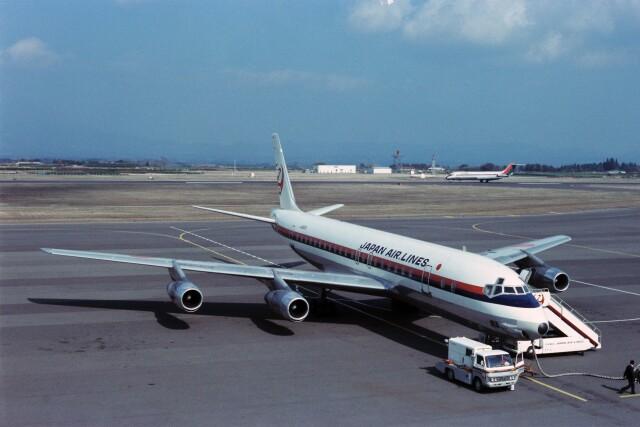 KOMAKIYAMAさんが、鹿児島空港で撮影した日本航空 DC-8-55の航空フォト(飛行機 写真・画像)