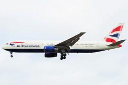 ちっとろむさんが、ロンドン・ヒースロー空港で撮影したブリティッシュ・エアウェイズ 767-336/ERの航空フォト(飛行機 写真・画像)