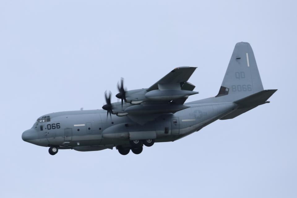 mogusaenさんのアメリカ海兵隊 Lockheed Martin C-130 Hercules (168066) 航空フォト