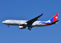 じーく。さんが、成田国際空港で撮影したネパール航空 A330-243の航空フォト(飛行機 写真・画像)