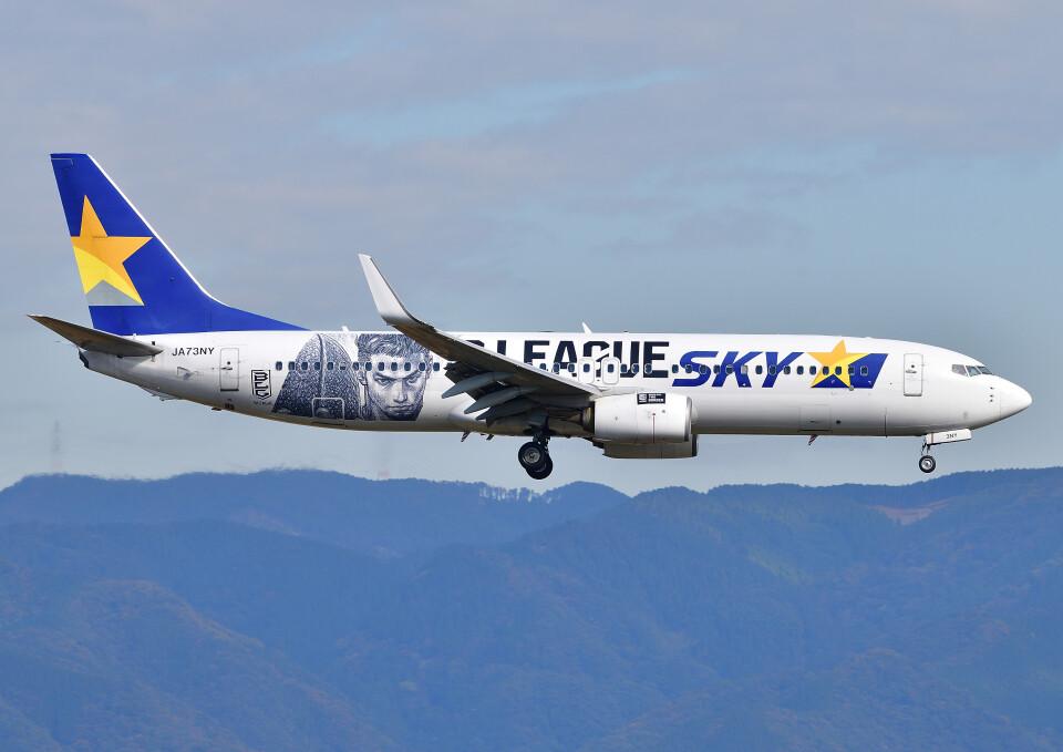 じーく。さんのスカイマーク Boeing 737-800 (JA73NY) 航空フォト