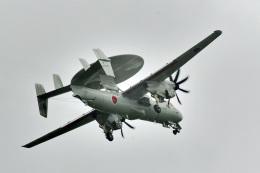 鈴鹿@風さんが、三沢飛行場で撮影した航空自衛隊 E-2D Advanced Hawkeyeの航空フォト(飛行機 写真・画像)