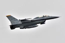 鈴鹿@風さんが、三沢飛行場で撮影したアメリカ空軍 F-16DM-50-CF Fighting Falconの航空フォト(飛行機 写真・画像)