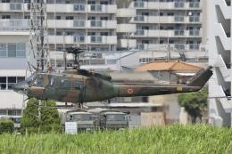 Hii82さんが、八尾空港で撮影した陸上自衛隊 UH-1Jの航空フォト(飛行機 写真・画像)