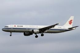 kaeru6006さんが、成田国際空港で撮影した中国国際航空 A321-213の航空フォト(飛行機 写真・画像)