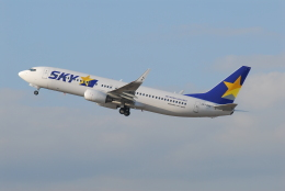 航空フォト:JA73NE スカイマーク 737-800