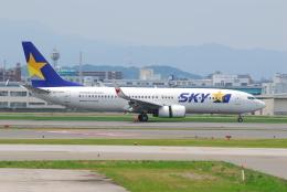 ITM58さんが、福岡空港で撮影したスカイマーク 737-81Dの航空フォト(飛行機 写真・画像)