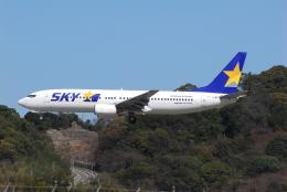 ITM58さんが、福岡空港で撮影したスカイマーク 737-8HXの航空フォト(飛行機 写真・画像)