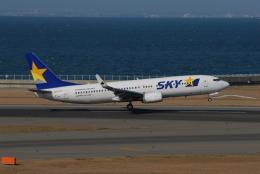 ITM58さんが、中部国際空港で撮影したスカイマーク 737-8Q8の航空フォト(飛行機 写真・画像)