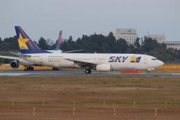 ITM58さんが、成田国際空港で撮影したスカイマーク 737-86Nの航空フォト(飛行機 写真・画像)