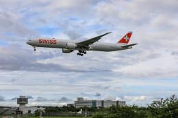 Kaaazさんが、成田国際空港で撮影したスイスインターナショナルエアラインズ 777-3DE/ERの航空フォト(飛行機 写真・画像)