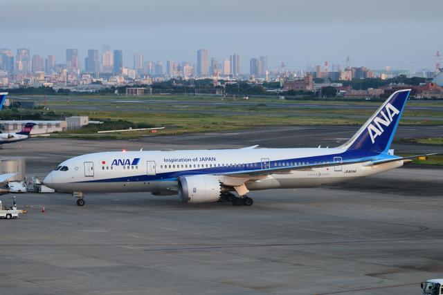 航空フォト:JA824A 全日空 787-8 Dreamliner