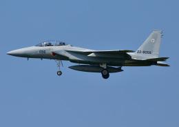じーく。さんが、小松空港で撮影した航空自衛隊 F-15DJ Eagleの航空フォト(飛行機 写真・画像)