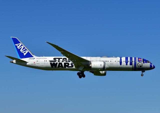 航空フォト:JA873A 全日空 787-9