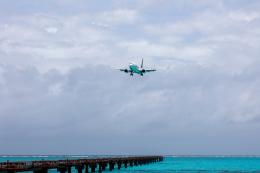 チャッピー・シミズさんが、下地島空港で撮影したスカイマーク 737-8HXの航空フォト(飛行機 写真・画像)