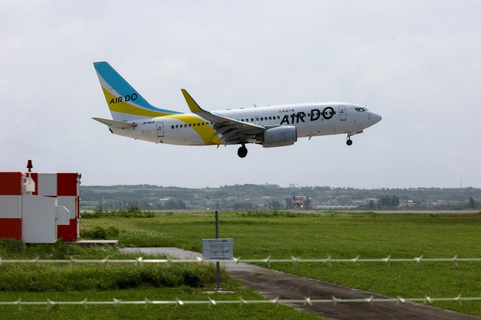 チャッピー・シミズさんのAIR DO Boeing 737-700 (JA14AN) 航空フォト