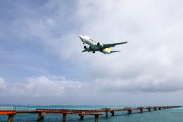 チャッピー・シミズさんが、下地島空港で撮影したAIR DO 737-781の航空フォト(飛行機 写真・画像)